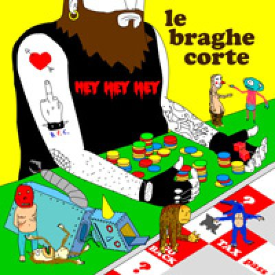 Le Braghe Corte Knock Down Testo Lyrics