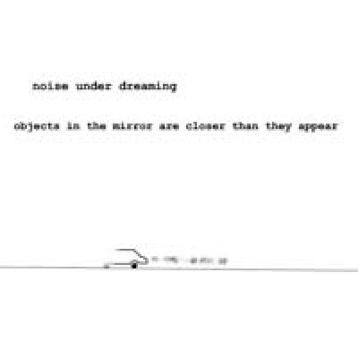 album Objects In The Mirror Are Closer Than They Appear - Noise Under Dreaming