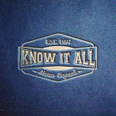 album Know It All - Marco Bagnoli