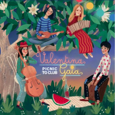 album PICNIC TO CLUB Valentina Gaia
