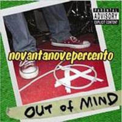 album Novantanovepercento - Out Of Mind [Marche]