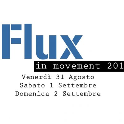 Flux in movement 2012