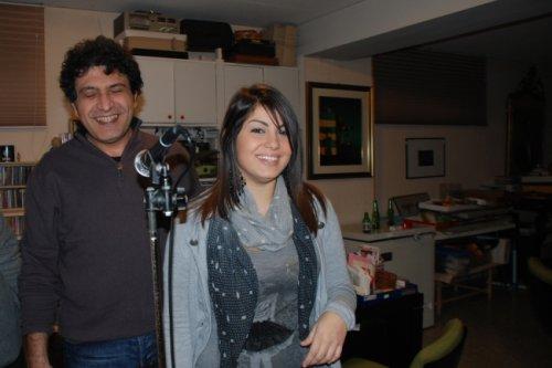 la bravissima cantante VALENTINA PINTO con CAMPAGNA