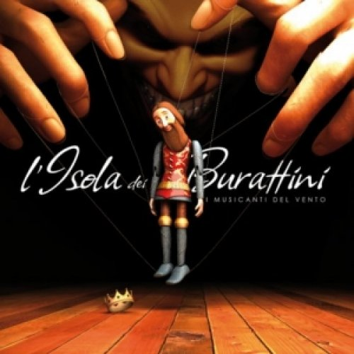 album L'isola dei burattini i Musicanti del Vento