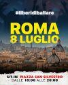 La manifestazione dell'8 luglio a Roma