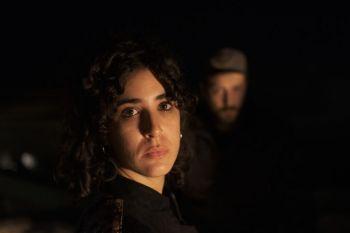 Giulio Gaigher, batterista, e Chiara Pisa, cantante e attrice